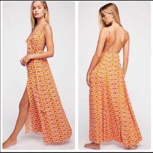 Free People Siren Wrap Dress